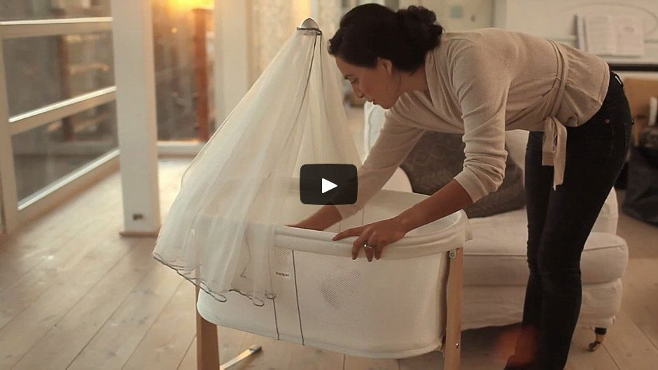 BABYBJÖRN Cradle – a modern baby cradle that facilitates supervision ...