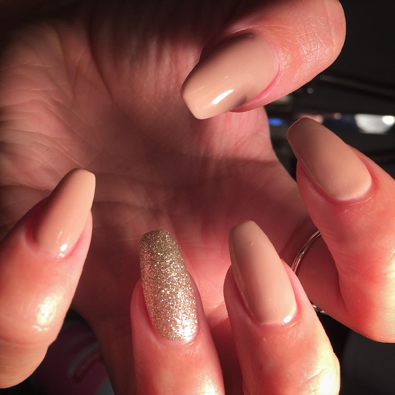 Dockside diva and all that glitter #ibd #coffin by me X | Beauty ...