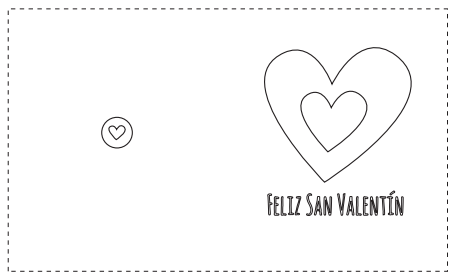 Tarjetas de San Valentín para colorear | Pinterest | Tarjetas de san ...