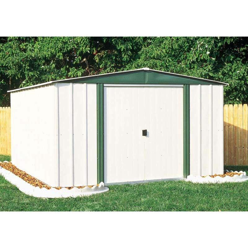 With This Outdoor 6-ft X 8-ft Steel Storage Shed With