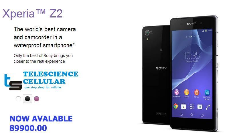 Sony Xperia Z2 | Mobile Phone Prices In Sri Lanka | Sony xperia