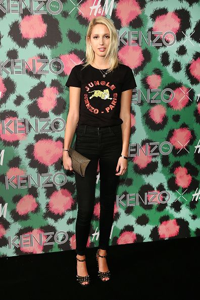 Princess MariaOlympia of Greece and Denmark attends KENZO x HM Arrivals at Pier 36 on October 19 2016 in New York City