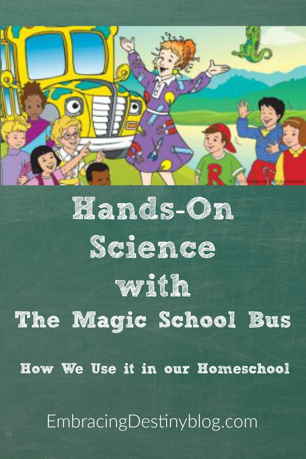 Hands On Science Fun With The Magic School Bus Heart And Soul Homeschooling Magic School Bus Fun Science Magic School