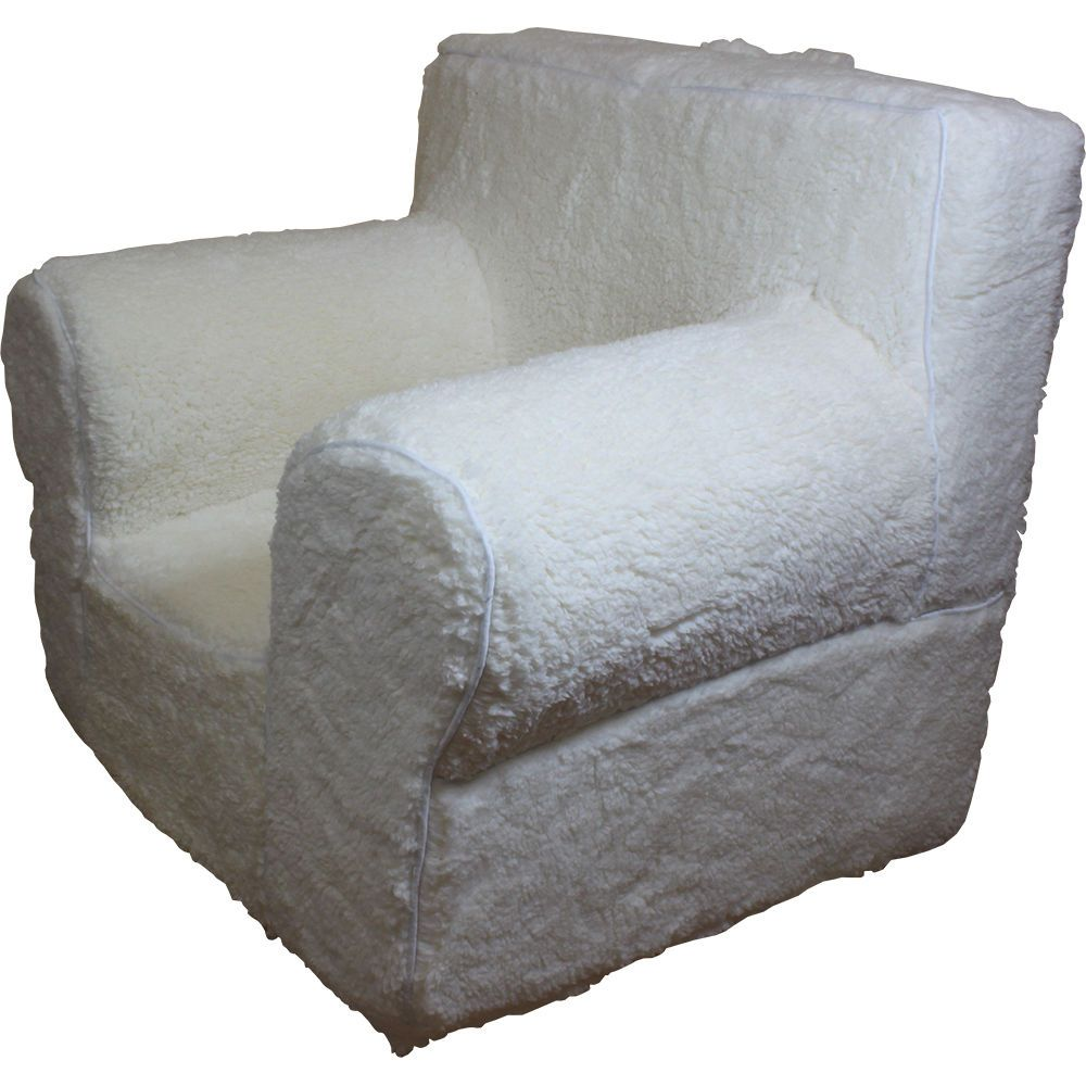 Cream sherpa replacement cover for pottery barn kids