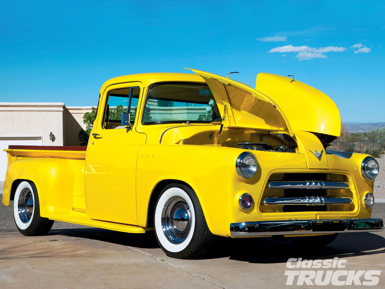 Trucks dodge 1955 dodge truck front photo 5 gotracing for Is dodge general motors