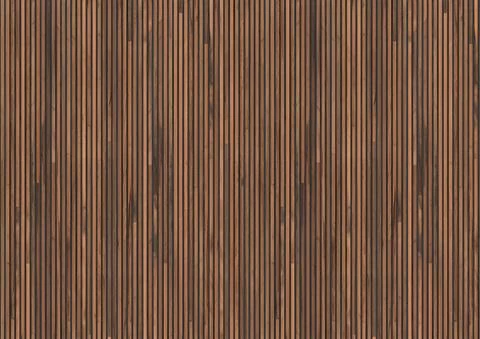 Timber Strips Wallpaper In Teak On Black By Piet Hein Eek For Nlxl Wal Wood Wall Texture Timber Feature Wall Stripped Wallpaper