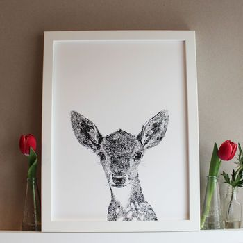 £19.20 | 'Darcy The Deer' Print