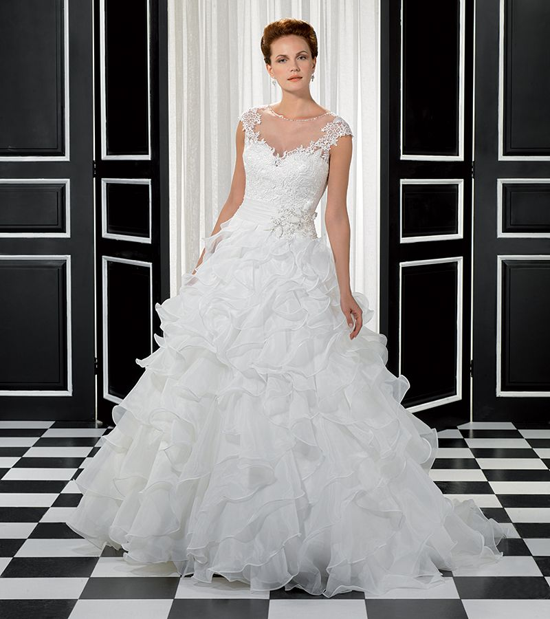 Eddy K Ball Gown Shaped Wedding