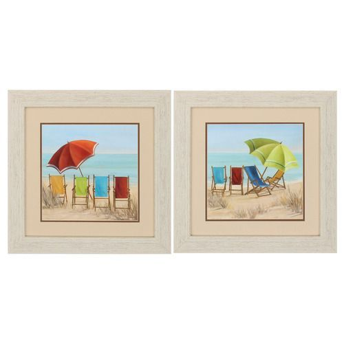 Beach Chair Summer Prints - Set of 2