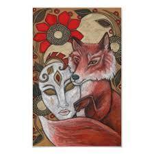 So much pretty fox maiden art!