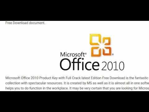 office 2010 professional plus activation crack download
