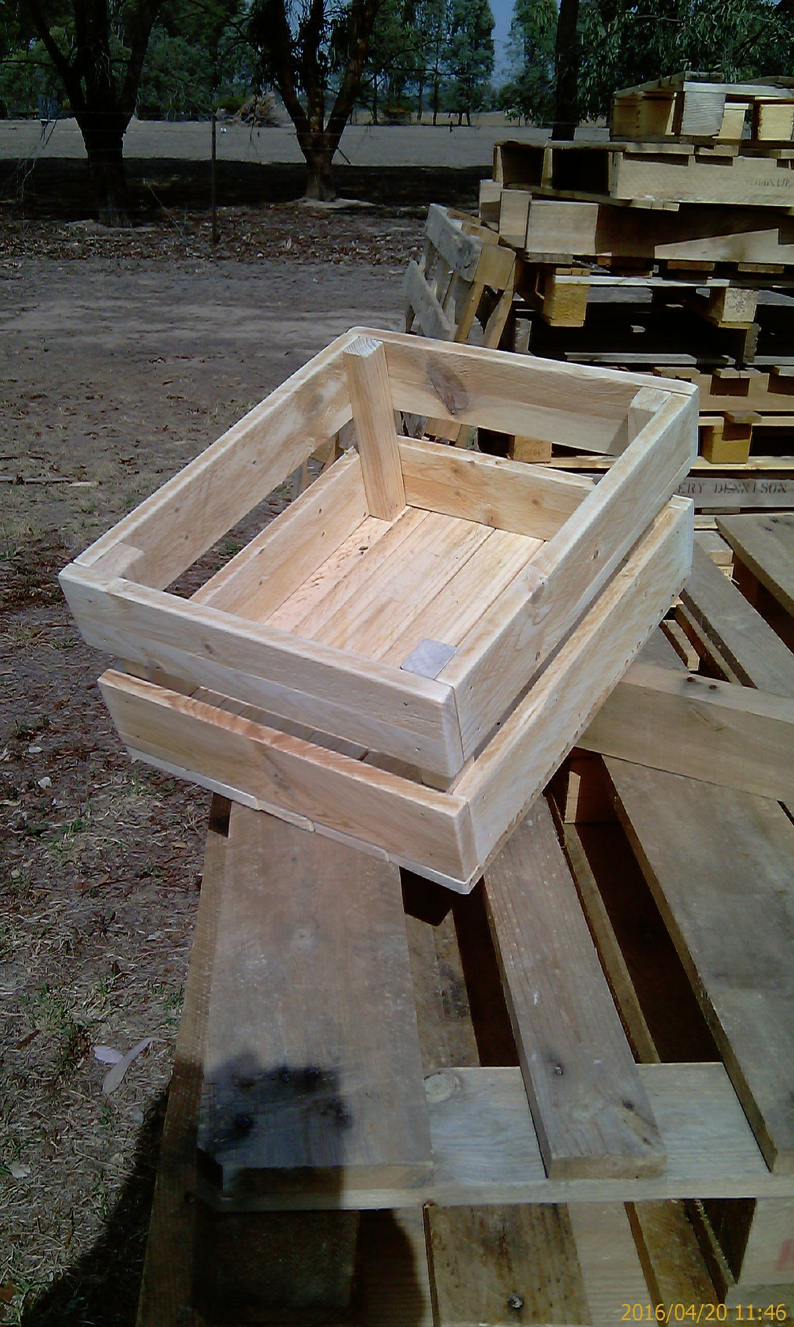 Recycling Pallet Wood - Fruit Box No 39 - Suitable for the ...