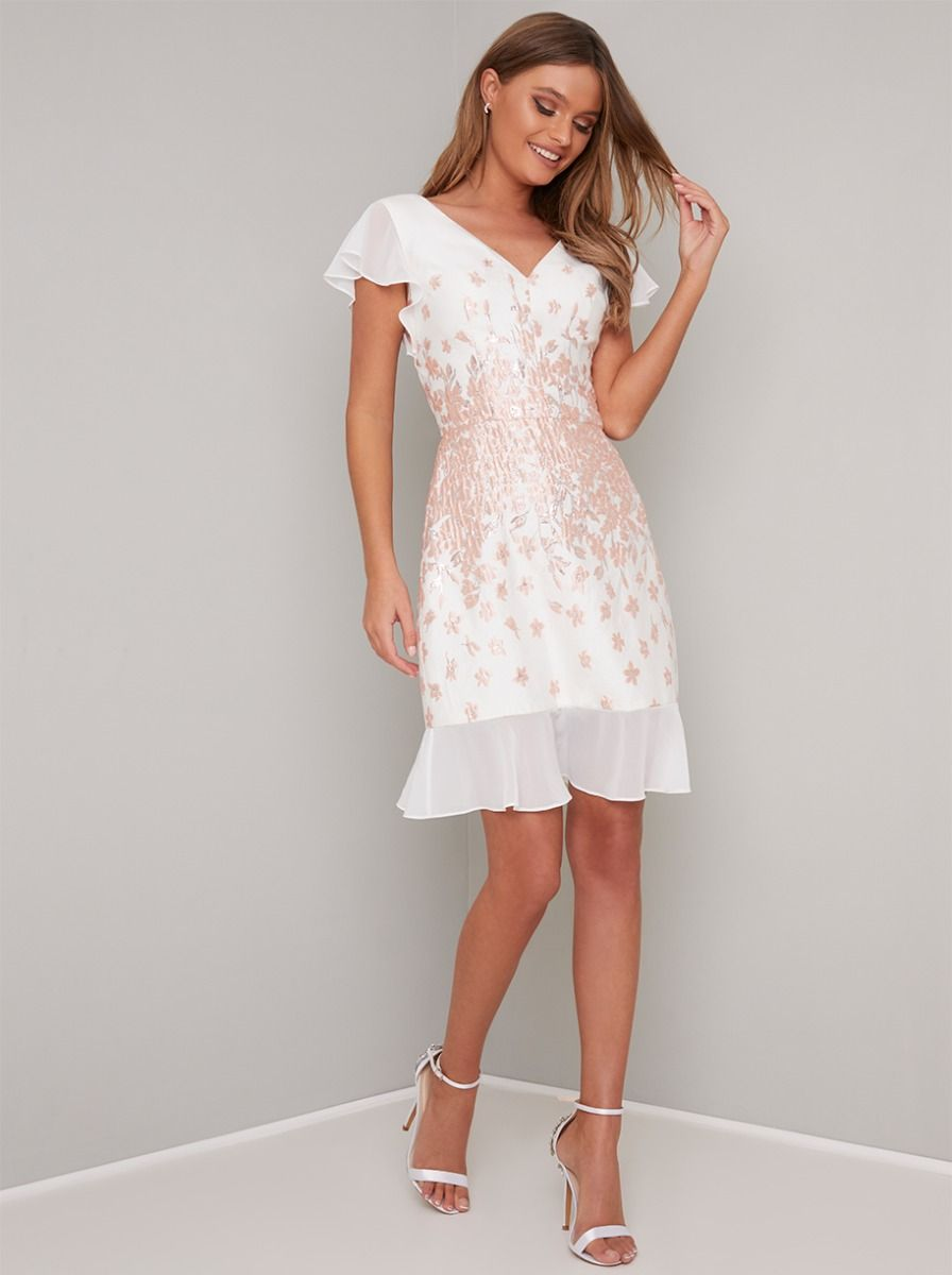 Chi Chi Nelley Dress In 2020 Wedding Guest Dresses Uk Beautiful White Dresses Dresses
