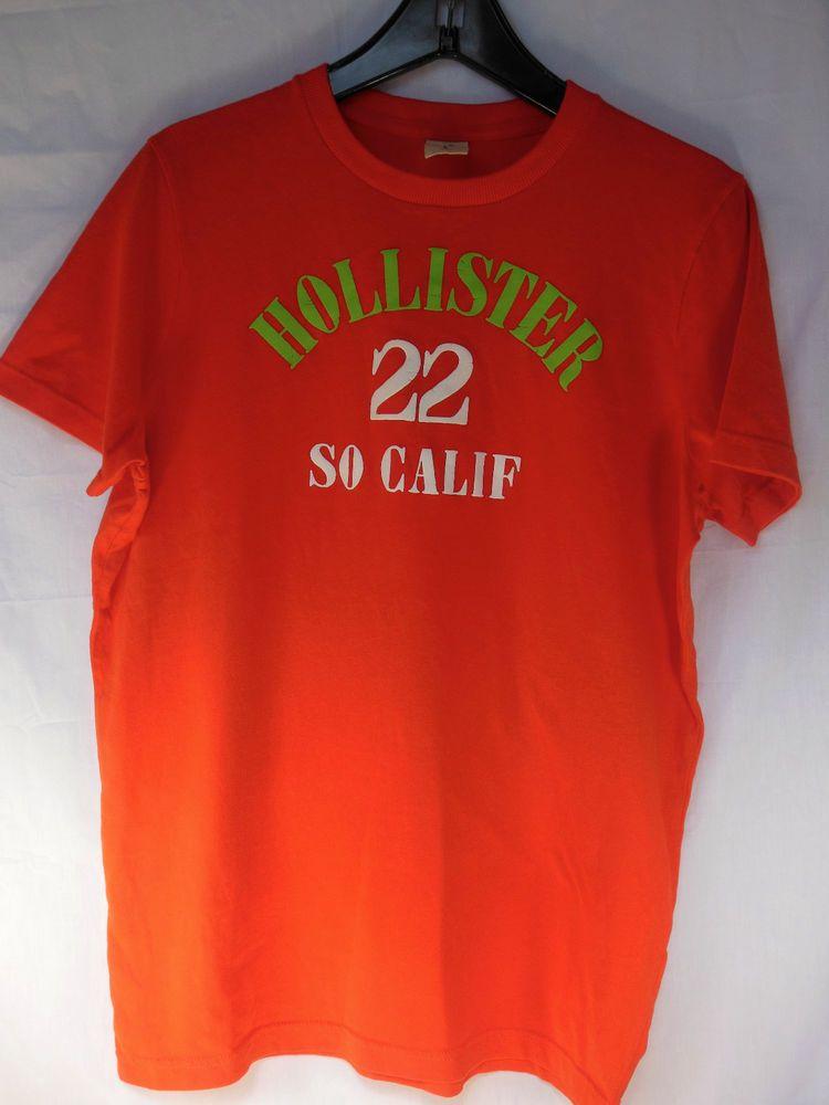Hollister california mens tshirt short sleeve 22 so calif