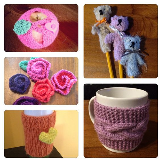 Market Knits 10 Quick Patterns To Make And Sell Or Give Away