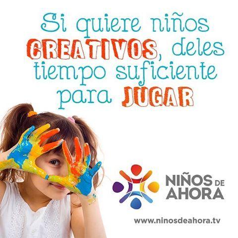 Los #niños necesitan mínimo 30 minutos de #juego libre al día. www.ninosdeahora.tv #NiñosDeAhora #blog #niñez #niños #crianza #creatividad