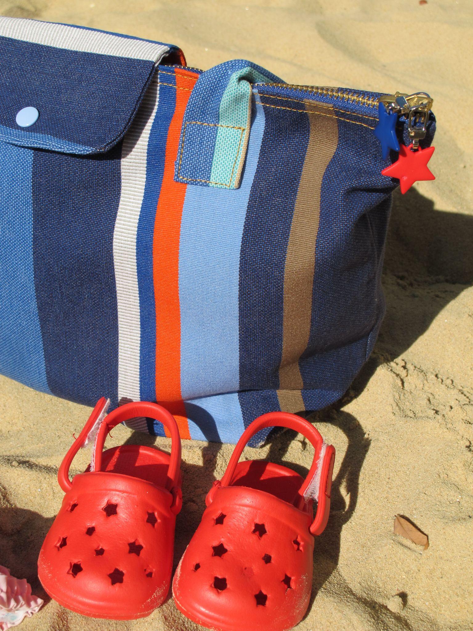 tuto diy le sac de plage fa on pliage de longchamp. Black Bedroom Furniture Sets. Home Design Ideas