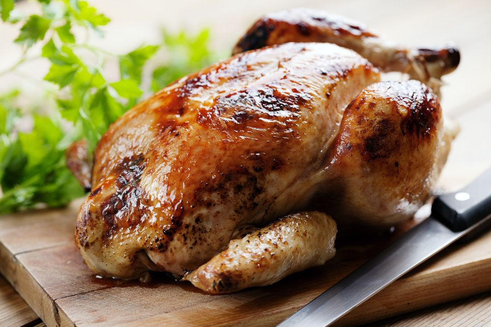 Pollo Rostizado Al Horno Receta Recetas De Pollo Rostizado Pollo Rostizado Pollo Relleno Al Horno