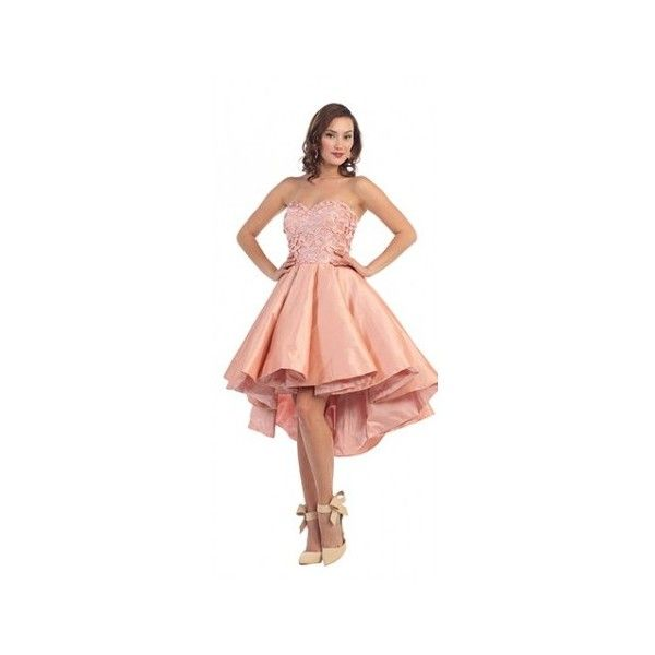 High-Low Prom Dresses | Unique Prom ❤ liked on Polyvore featuring ...