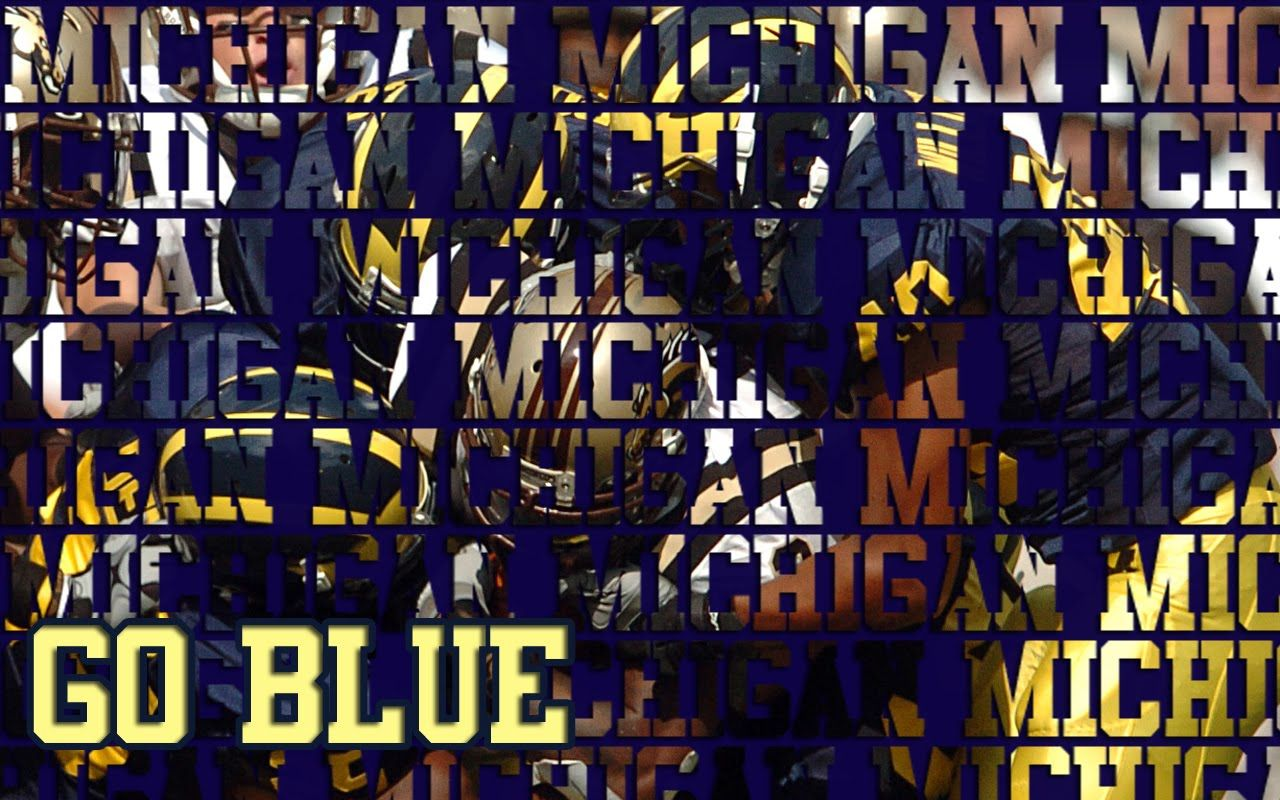 Awesome Michigan Wolverines Wallpaper: Michigan Wolverines Football Wallpapers Group 1280×800