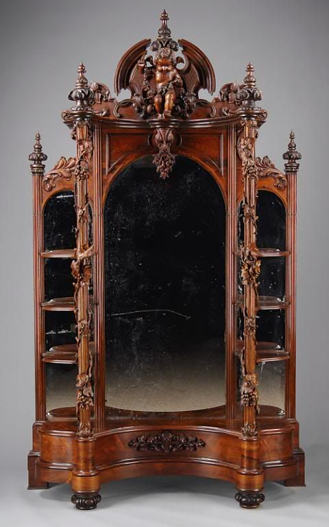 gothic furniture to represent the emphasis on medival influence and the  subject sublime. - Gothic Furniture To Represent The Emphasis On Medival Influence And