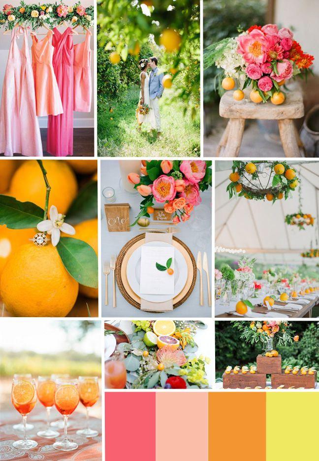 Florida Citrus Wedding Inspiration