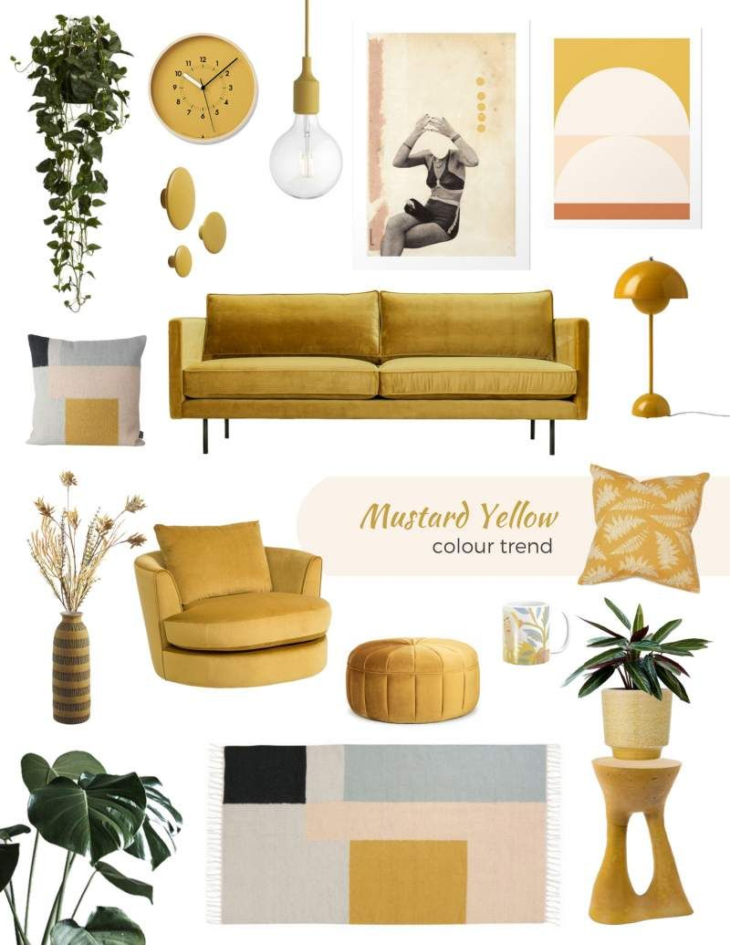 Mustard Yellow Decor Items The Best Ideas To Shop Online Now