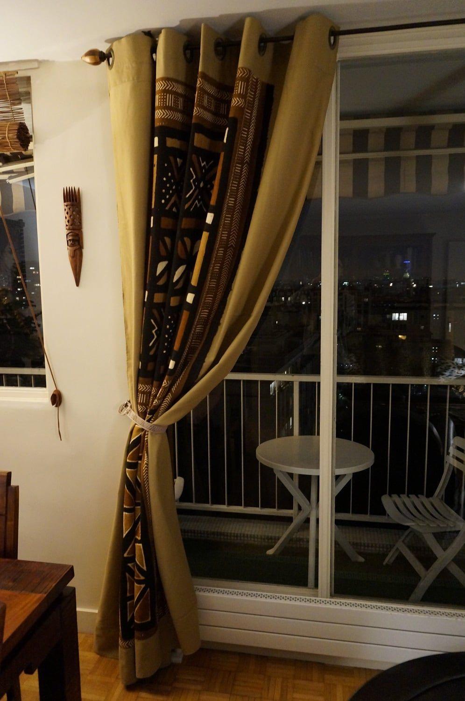Decoration Maison Interieur Rideaux rideaux en tissu africain du mali : bogolan (avec images