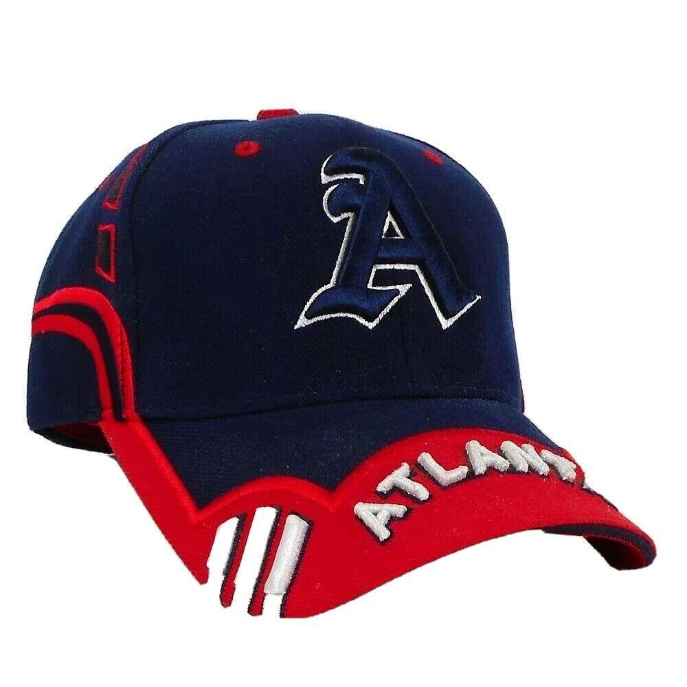 City Hunter Atlanta Youth Baseball Cap One Size Blue Acrylic Hat Embroidery Ebay In 2021 Youth Baseball Baseball Cap Hat Embroidery