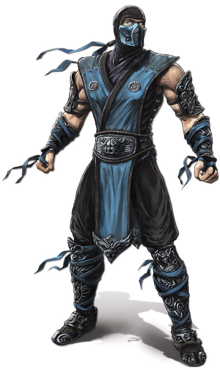 Mortal Kombat X - Character Art