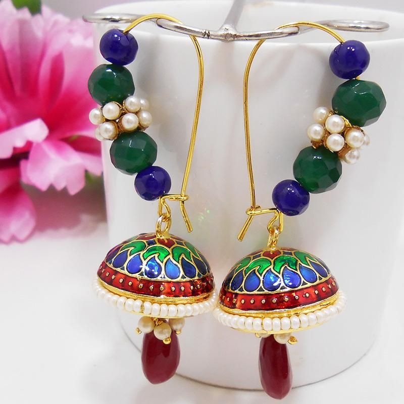 New Addition of Earrings by MK Jewellers. Complete Collection Available at: http://www.indiebazaar.com/shop/mkjewellers/earrings?sort=mr