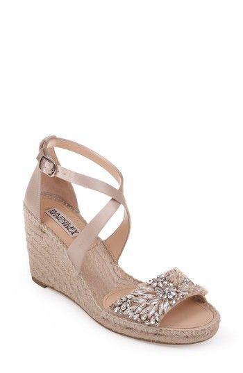 2317edaf22dc5 BADGLEY MISCHKA SCARLETTE ESPADRILLE WEDGE.  badgleymischka  shoes ...