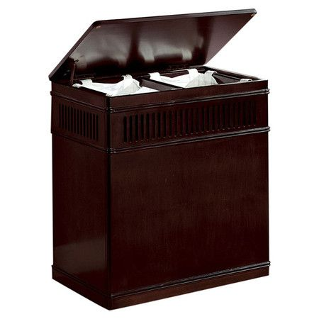 Dark Wood Sorting Hamper This Is Really Nice Looking For A