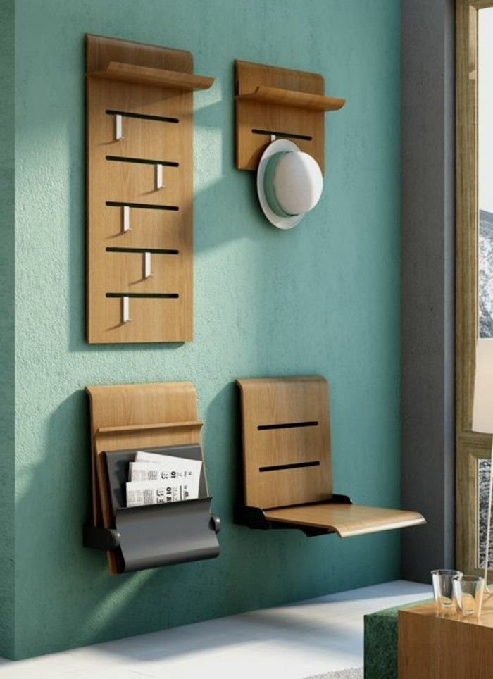 comment sauver d espace avec les meubles gain de place byte can do pinterest hall entryway and apartment entryway