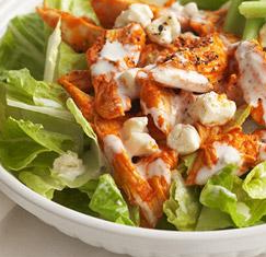 BUFFALO CHICKEN SALAD | Ideal Protein Recipe | Ideally You #idealproteinrecipesphase1dinner