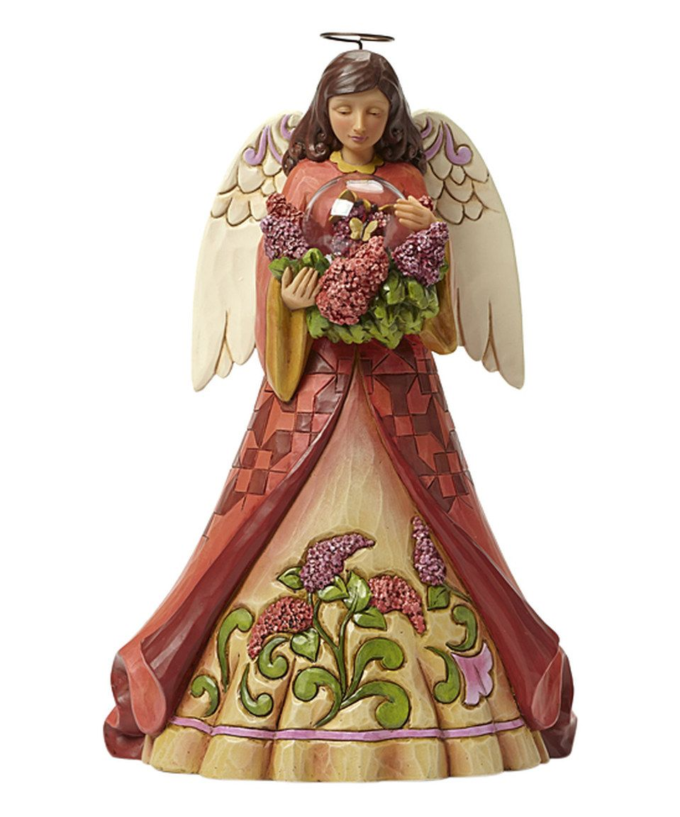 Another great find on #zulily! Jim Shore Angel With Butterflies Figurine by Jim Shore #zulilyfinds
