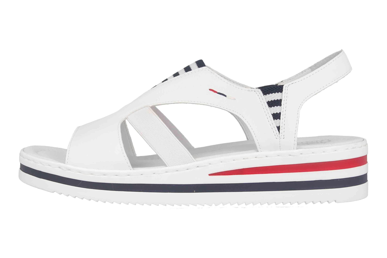 Rieker Sandaletten In Ubergrossen Weiss V02y5 80 Grosse Damenschuhe In 2020 Damenschuhe Schuhe Frauen Schuhe