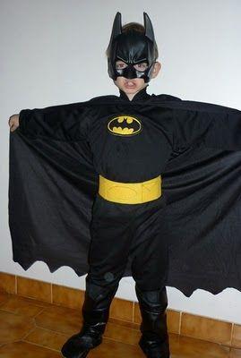 transform pirate costume into batman costume