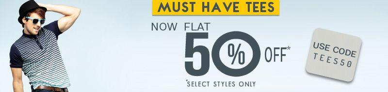 Get Flat 50% OFF on Men's T-Shrits at Basics Life & Get Rs 200 Cashback from Paytm  #Paytm #Cashback #BasicsLife #Shopping #Tshirt #Fashion #India