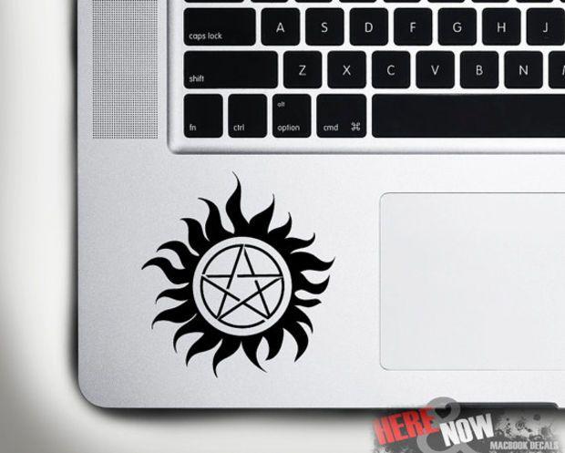 Supernatural Protection Symbol Macbook Decalsticker For Track Pad