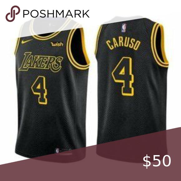 Nike Los Angeles Lakers Alex Caruso Black Jersey