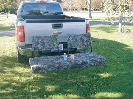 Mossy Oak Camo Tailgate Hitch Seat We Could Use This At The Drive In Although Our Folding Camp Chairs Work Just Fine