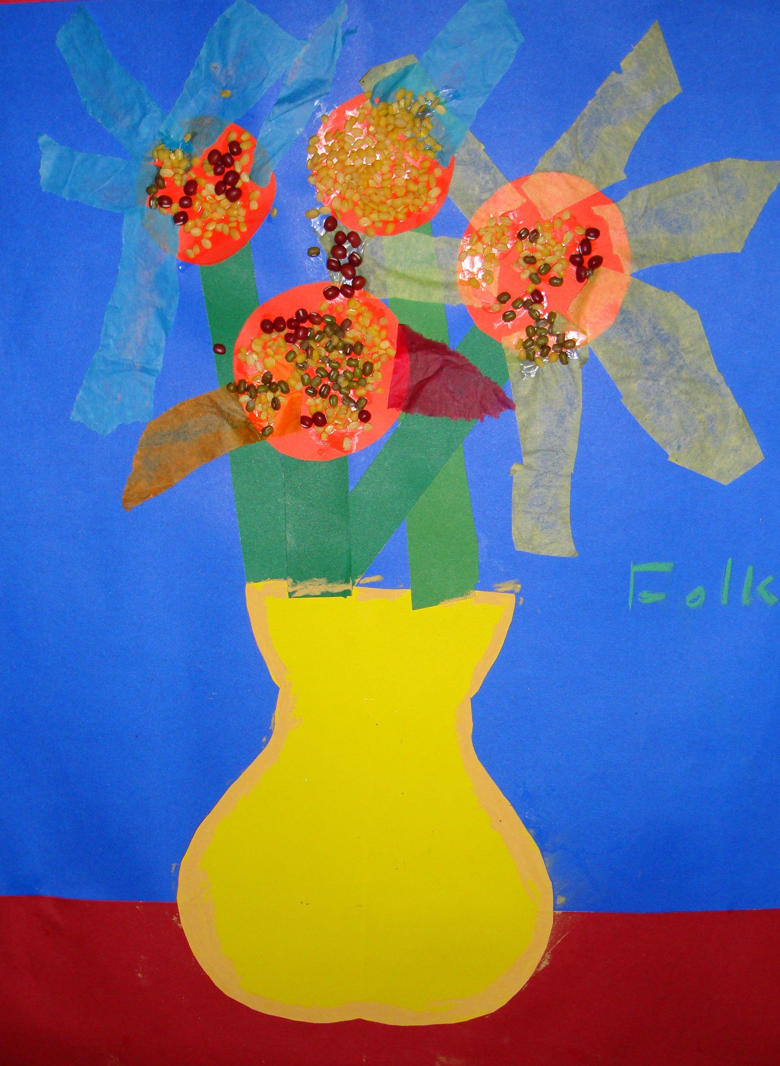 Art Lessons For Kids - Create a Van Gogh Vase   Art ...