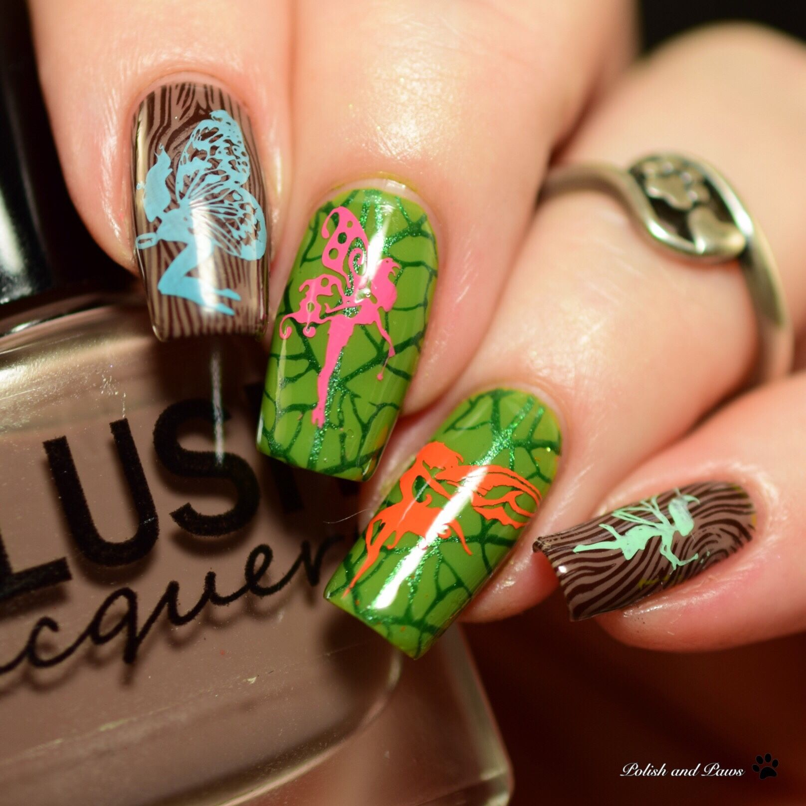 Fairy Nails | Nail Art Community Pins | Pinterest | Fairy, Nails ...