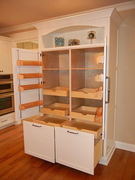DIY Farmhouse Storage Cabinet Design Ideas 28 #kitchenpantrycabinets