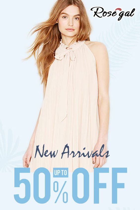 Rosegal is offering up to 50% discount on New Arrivals ...