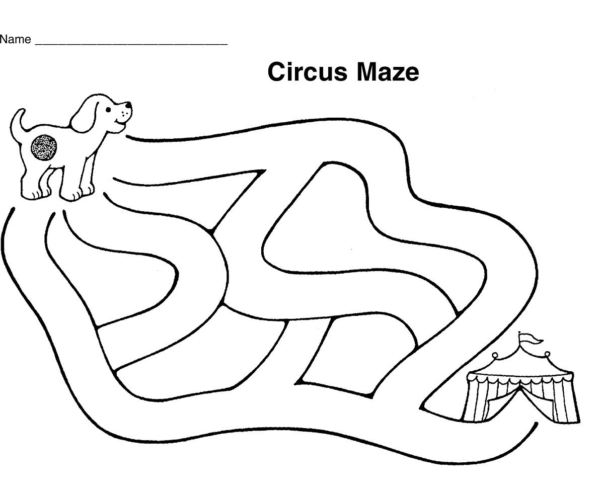 graphic about Printable Mazes for Kindergartners named very simple mazes for little ones weighty Educative Printable