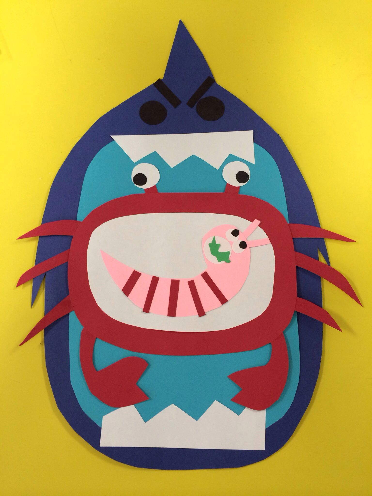 Food Chain Big Mouth Foodchain Predator Consumer