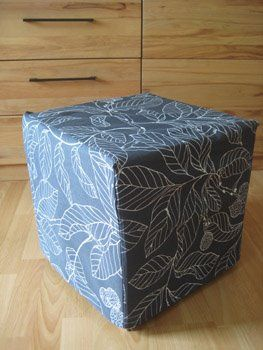 ikea hockerbezug n hen sewing a fabric covering n hideen pinterest n hideen n hen und. Black Bedroom Furniture Sets. Home Design Ideas