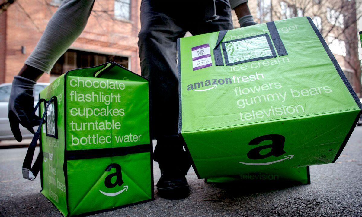 Amazon Leases Warehouse In Prime Position To Deliver Food To London Uk Supermarkets Amazon Grocery Grocery Services